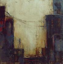 Pigmente, Marmormehl, Acrylmalerei, Bitumen