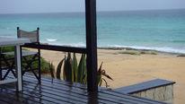 Blau, Strandbar, Formentera, Urlaub