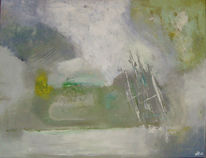 Experimentelle, Abstrakt, Acrylmalerei, Malerei