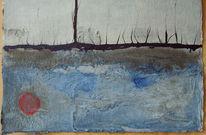 Marmormehl, Abstrakt, Aquarellmalerei, Airbrush