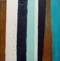 Weiß, Struktur, Eisen, Acrylmalerei