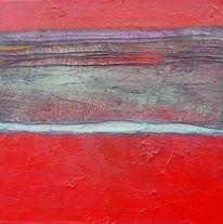 Acrylmalerei, Airbrush, Marmormehl, Mischtechnik