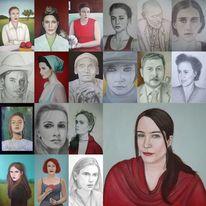 Gesicht, Porträtmalerei, Zeichnen, Menschen