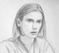 Portrait, River phoenix, Bleistiftzeichnung, Zeichnung