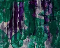 Fantasie, Tiere, Blauviolett, Violett