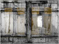 Fenster, Haus, Verfall, Fotografie