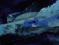 Blautöne, Malerei