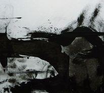Fisch, Brücke, Mann, Malerei