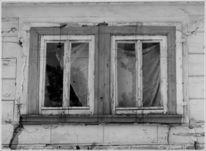 Verfall, Fenster, Haus, Fotografie