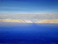 Sonnenschein, Brücke, Kroatien, Meer