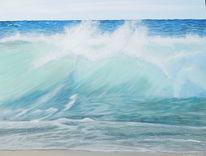 Strand, Brandung, Seegang, Meer