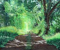 Natur, Romantisch, Grün, Sommer