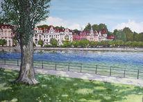 Konstanz, See, Bodensee, Seestrasse
