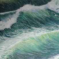 Welle, Sonne, Meer, Seegang