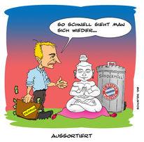 Klinsmann, Bayer, Zeichnungen, Menschen