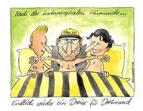 Dortmund, Karikatur, Klopp, Cartoon