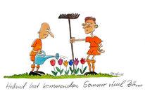 Em, Holland, Fußball, Zeichnungen