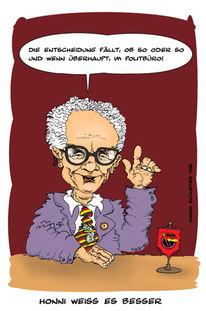 Honecker, Ddr, Zeichnungen, Weiß