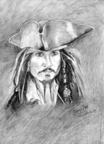 Depp, Hollywood, Schauspieler, Pirat