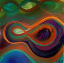 Hoffnung, Unendlichkeit, Bunt, Malerei