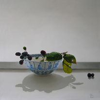 Ölmalerei, Realismus, Stillleben, Malerei