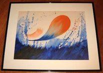 Seele, Abstrakt, Acrylmalerei, Malerei