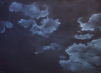 Ölmalerei, Malerei, Nacht, Realismus