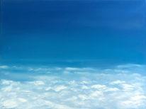 Malerei, Himmel, Realismus, Wolken