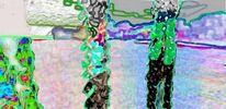 Blitz, Schrei, Bucht, Digitale kunst