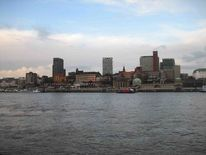 Stadt, Wasser, Hamburg, Fotografie