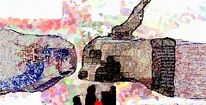 Tiere, Freinde, Digitale kunst,