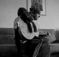 Himmel, Klang, Musik, Gitarre