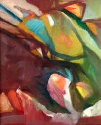 Abstrakter expressionismus, Malerei, Herbst