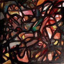 Abstrakter expressionismus, Herbst, Glaube, Malerei
