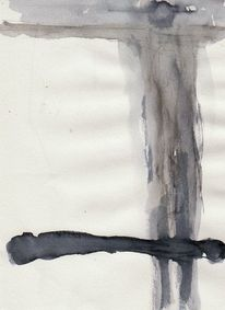 Surreal, Figural, Abstrakt, Aquarell