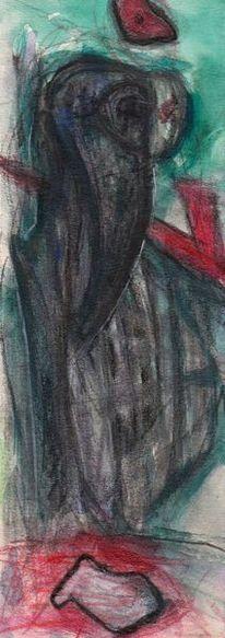 Rot, Figural, Weihnachten, Malerei