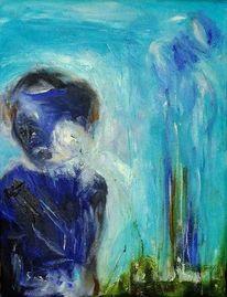 Traum, Kalt, Surreal, Malerei