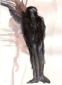 Abstrakt, Surreal, Figural, Malerei