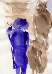 Kalt, Blau, Surreal, Abstrakt