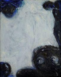 Nacht, Traum, Kalt, Malerei