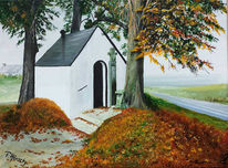 Baum, Natur, Kapelle, Fürbitte