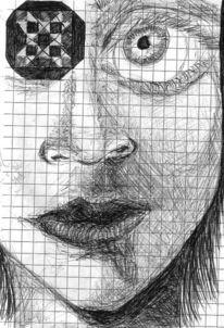 Pause, Zeichnungen,