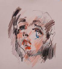 Emotion, Menschen, Farben, Zeichnungen