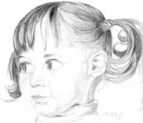 Zeichnungen, Portrait, Seh