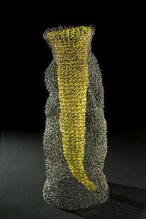 Draht, Skulptur, Plastik, Abstrakt