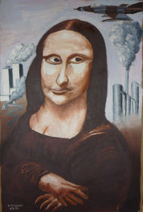 Mona lisa, Ölmalerei, Skizze, Malerei