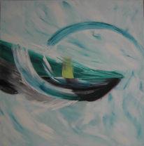Malerei, Abstrakt, Natur, Gezeiten
