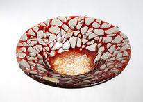 Glas, Relief, Struktur, Design
