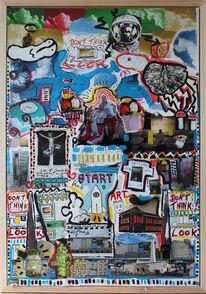 Zeitgenösische kunst, Wartenberg, Postmodern, Ak schmelzer
