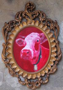 Kuh, Kuh bulle, Kuhmaler, Gegenwartskunst